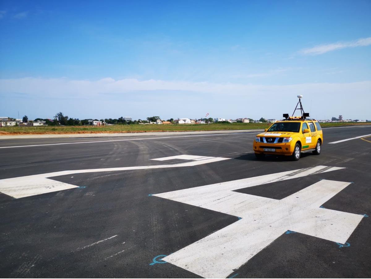 Detection des FOD sur piste atterrissage